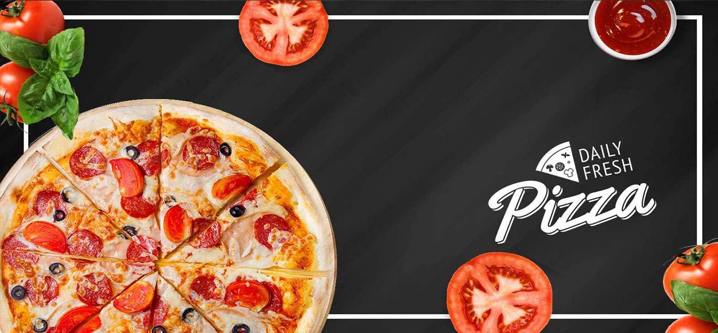 Family Style Pizza Banner
